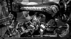 Workhouse Tattoostuff tattoo machines - Birdy , Bronze Walker , Bronze Gun 3