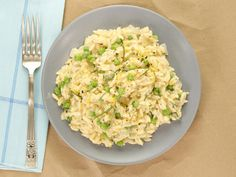 Lemon-Basil Orzotto  Kelsey uses orzo instead of traditional Arborio rice to make this lemony, risotto-like dish in less than 30 minutes.