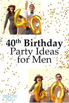 The Best 40th Birthday Party Ideas For Men
