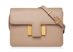 Tom Ford Sienna Small Leather Shoulder Bag In Tuscanypink Designer Shoulder Bags, Smooth Leather, Cross Body Handbags, Tom Ford, Leather Shoulder Bag, Shopping Bag, Satchel, Shoe Bag, Medium