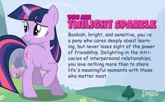 I'm Twilight Sparkle! Which My Little Pony are you?