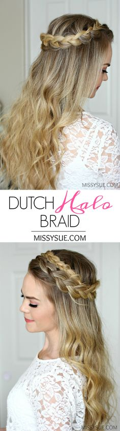 This Dutch Halo Braid is such a great staple hairstyle! The tutorial requests I receive the most are half up hairstyles and everyday hairstyles. I definitely think this works for both and once you master it I have no doubt it'll become one of your…