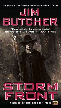Storm Front (Dresden Files Series #1)  Great set of books for those who like mystery with a little fantasy mixed in.