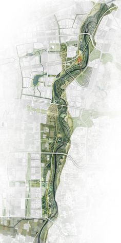 site plan architecture GVL Gossamer selected as finalists for Jing River design competition Architecture Durable, Masterplan Architecture, Architecture Drawing Plan, Architecture Graphics, Sustainable Architecture, Architecture Portfolio, Landscape Diagram, Landscape Design Plans, Landscape Architecture Design