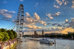 #HDR #sunset #photography #london