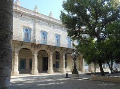 Palacio del Segundo Cabo en la Plaza de Armas de la Habana Vieja