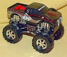 SNAKE BITE MONSTER TRUCK TOY STATE ROAD RIPPERS 4X4 SOUNDS MOTION LIGHTS BATT OP #ToyState
