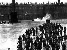 24 ottobre 1917: assalto al palazzo d'Inverno da parte dei bolscevichi