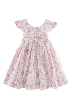 This is not a tutorial (well I didn't check the link, so I don't really know, but I don't think it is), but I should find a pattern for this style dress.  Isn't it so sweet?