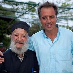 On the Aegean island of Ikaria we found our fifth Blue Zone. Not only do people here reach age 100 at 3 times the rate we do in the U.S, dementia is virtually non existent. (About half of Americans over 85 suffer from dementia). Here we met this 93-year old Greek Orthodox priest. His longevity advice:  Keep your feet warm, Your head cool Have a glass of wine with dinner And leave the table before you're full!  Something to keep in mind for this weekend! #BlueZones #Friday Orthodox Priest, Old Greek, This Is Us, Men Casual, Mediterranean Food, Dementia, American, Massage, People