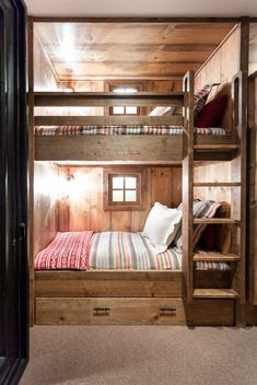 Rustic bedroom ideas your kids will go crazy about | Discover more ideas at circu.net/blog Bunk Beds, Loft Beds, Double Bunk Beds, Bunk Bed
