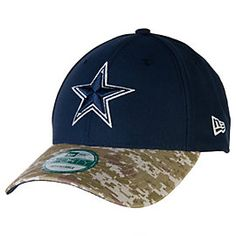 0b3304b55 Dallas Cowboys New Era Salute To Service Camo 9Forty Cap Dallas Cowboys  Outfits