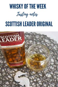 Review and Tasting notes for the Scottish Leader Original blended whisky Malt Whisky, Scotch Whisky, Blended Whisky, Whisky Tasting, Notes, The Originals, Breakfast, Life, Food
