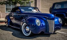 1940's Ford Convertible, via Flickr. More Car Pictures:  http://carpictures.us
