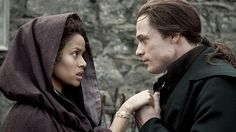 """I love you for all that you are... With all that I am."" Gugu Mbatha-Raw and Sam Reid"