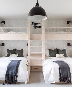 Bedroom lighting ideas to spark your own modern bedroom set! Find just the right lamp for your brand new bedroom refurbishment! Find out why modern bedroom room design is the way to go! Room Design, Small Room Design, Bedroom Design, Stylish Bedroom, Stylish Bedroom Design, Modern Bedroom, Bunk Bed Rooms, Bunk Beds Built In, Kid Room Decor