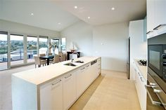 Very similar to what will be our kitchen layout Kitchens, Table, Furniture, Home Decor, Kitchen Layouts, Decoration Home, Room Decor, Kitchen, Tables
