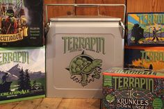 Want to win a one of a kind cooler from @craftbotcoolers? Head over to the link in our profile to enter today! #TakeTerrapin #craftbotcoolers #giveaway #beertogo #cooler #win #entertowin beer not included