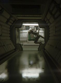 I realized I had derived a lot of inspiration from Alien: Isolation.