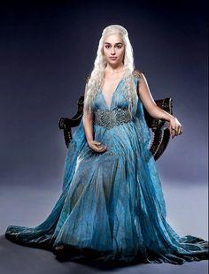 Customized movie Game of Thrones Season 5 cosplay costume dress cosplay Daenerys Targaryen cosplay Dress - Winterfell Shop Daenerys Targaryen Cosplay, Game Of Throne Daenerys, Daenarys Targaryen, Khaleesi Costume, Margaery Tyrell, Emilia Clarke, Movie Costumes, Cool Costumes, Cosplay Costumes