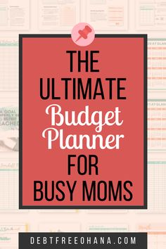 Tried all the budgeting worksheets? If you're a busy mom and want a financial planning pdf that's simple but effective and fun to use, download this budget planner. Already have a budget binder? Use this to supplement, and add to your financial planning efforts. #budgetingfinances #budgetingprintable #howtoorganizefinances Budget Spreadsheet, Budget Binder, Budget Planner, Budgeting System, Budgeting Finances, Budgeting Tips, Financial Tips, Financial Planning, Monthly Budget Printable