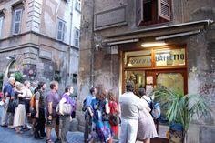 Da Baffetto (best pizza) / Rome.