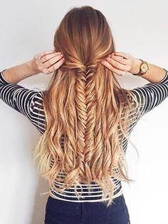 Trendy Hairstyles For School Dances Simple Curls Ideas Cute Hairstyles For Teens, Easy Hairstyles For School, Teen Hairstyles, Wedding Hairstyles, Summer Hairstyles, Beautiful Hairstyles, Hair Styles For Long Hair For School, Hair Ideas For School, Creative Hairstyles