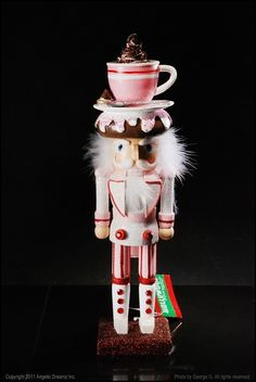 "Kurt Adler, 15"" Hot Chocolate Nutcracker"