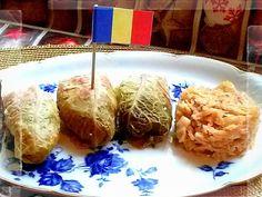 Sarmale: Rollitos de carne con hojas de repollo, Rumanía. (Cena de Navidad Worldwide)