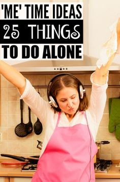Stressed? Overwhelmed? Anxious? From reading a trashy magazine and indulging in a mani/pedi, to binge-watching your favorite show on Netflix and making a new workout playlist, this list of Me Ideas for Moms is filled with great suggestions on things to do by yourself to help recharge your mind, body, and soul.