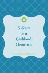 Cookbook Clean-out