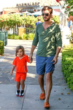 Scott Disick & Little Mason Kardashian-Disick ( Mase is such a cutie!!)