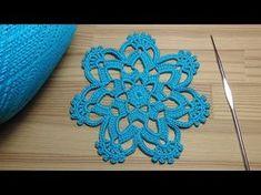 Вязание веточки листиков - урок вязания крючком -Crochet leaf sprigs - YouTube