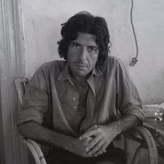 Errol & Henrietta Manners: 'Rediscovered today in the attic a negative of a photo I took of Leonard Cohen that I thought had long been lost. Taken on Hydra in Greece in the summer of 1971' Instagram