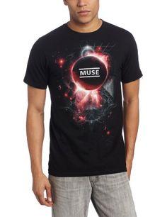 Bravado Mens Muse Neutron Star,Black, Large