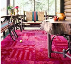 Love bohemian or vintage design? Then our Ambrosia carpet squares are for you! The rich colors and textures create a beautiful atmosphere that's simply irresistible.