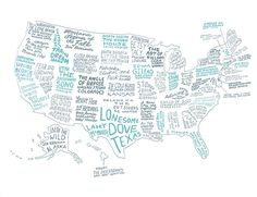 For all of you diehardreaders out there, the writers at Brooklyn Magazine published the coolest literary map of the United States. I thought it was reallyintriguing and now I have a few more books on my list to read! You can read more about the process and the books they chosehere. I'm totally charmin' on...readmore