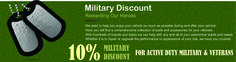 EAK salutes our troops with an exclusive discount for their service and dedication to defending our freedom! We welcome all Active Duty members, Reserves, Veterans and Retirees of the U.S. Air Force, Army, Coast Guard, Marine Corps, Navy, and National Guard to take advantage of this discount on eligible products. Our Military Discount is available to more military personnel than any other company. It's just one of the many ways that we are proud to serve all who have served…