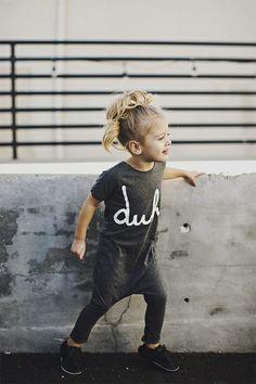 Moda infantil - cinza