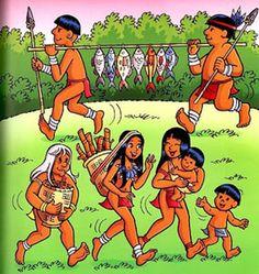tirinhas indígenas maurício de souza - Pesquisa Google