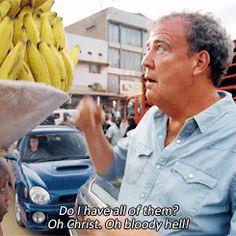Oh. My. Gosh.  Only Jeremy Clarkson.