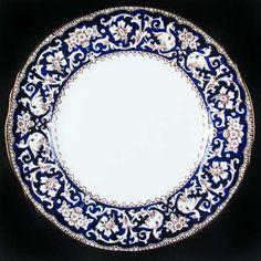Ellesmere-Cobalt Blue pattern by Crown Staffordshire