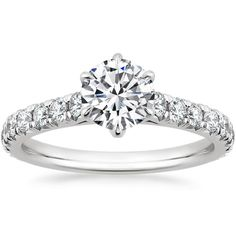 18K White Gold Duchess Diamond Ring (1/2 ct. tw.) from Brilliant Earth