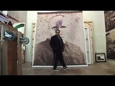 Julian Schnabel - over painted Polaroids - YouTube