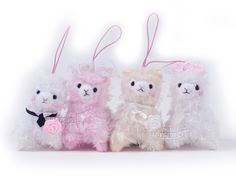 Alpacasso Bridal Series Plush 9cm Amuse | LoveJojo.com