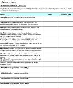 microsoft office checklist templates