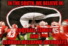 Georgia Football❤️I miss me my Aaron Murray Fall Football, College Football, Georgia Bulldogs Football, Georgia Girls, Bulldog Breeds, University Of Georgia, Atlanta Falcons, Fantasy Football, Gatos