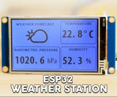 Dear friends welcome to another tutorial! In this tutorial we are going to build a WiFi enabled weather station project! We are going to use the new, impressive...