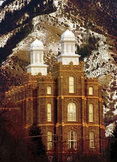 Logan LDS Temple - do a session in every temple in Utah.  Logan - DONE Brigham city SLC Ogden Bountiful Draper Jordan river Oquirrh mt Mt timp Provo Vernal Manti St George Monticello