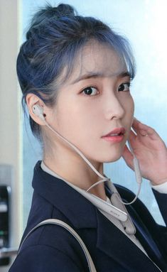 Iu Short Hair, Iu Hair, Short Hair Styles, A Love So Beautiful, Beautiful Women, Iu Fashion, First Girl, Korean Beauty, Korean Singer